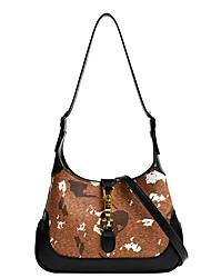 cheap -Women's Bags Crossbody Bag Top Handle Bag Hobo Bag Daily Date 2021 Handbags Black Coffee