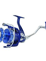 cheap -Fishing Reel Spinning Reel 5.5:1/4.7:1 Gear Ratio 12 Ball Bearings Easy Install for Sea Fishing / Freshwater Fishing / Trolling & Boat Fishing