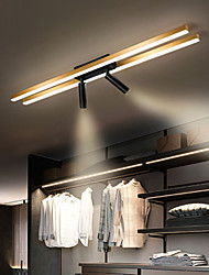 cheap -80 cm LED Dimmable Ceiling Light With Spot Light LED Flush Mount Lights Metal Artistic Style Stylish Painted Finishes Artistic LED 110-240 V