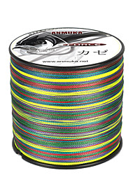 cheap -PE Braided Line / Dyneema / Superline 8 Strands Fishing Line 500M / 550 Yards PE 80LB 65LB 50LB