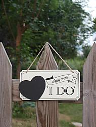 cheap -Ornaments Wood Wedding Decorations Wedding Creative / Wedding All Seasons