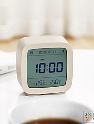 cheap -Xiaomi Cleargrass Bluetooth Alarm Clock qingping Temperature Humidity LCD Screen Nightlight Smart control by Mijia App