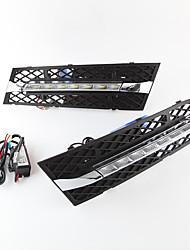 cheap -2pcs Car LED Daytime Running Lights Light Bulbs 3200 lm High Performance LED 35 W 7 For BMW 530 540 530i 2010 2011 2012