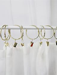cheap -Curtain Accessories  Metal Hooks Metal Set of 10