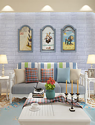 cheap -3D Wall Stickers 3D Wall Stickers Decorative Wall Stickers PVC Home Decoration Wall Decal Wall Decoration 1pc 10meter