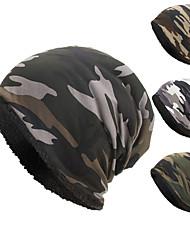 cheap -women and men winter warm hats baggy camouflage crochet hats wool ski beanie skull caps