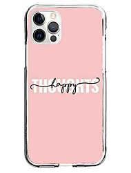 cheap -Letter Phone Case For Apple iPhone 13 12 Pro Max 11 X XR XS Max iphone 7/8 iphone 7Plus / 8Plus Unique Design Protective Case Pattern Back Cover TPU