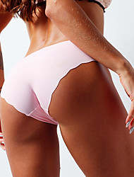 cheap -Women's one Piece Panties Breathable mid Waist Sexy Panties Briefs Head
