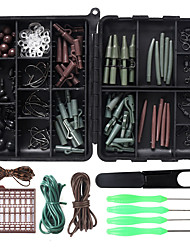 cheap -94 pcs Fishing Hooks Fishing Snaps & Swivels Fishing Beads Fishing Accessories Set Metal ABS Easy to Carry Easy to Use Other