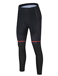 cheap -Men's Cycling Pants Bike Tights Sports Black / Red Clothing Apparel Form Fit Bike Wear / Micro-elastic / Athleisure