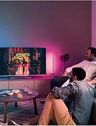 cheap -LED Strip Lights Waterproof 1M RGB Tiktok Lights 60 LEDs 5050 SMD 10mm 1M LED LED Strip Lights 17-Key Remote Controller RGB Tiktok Lights TV Background Light IP65