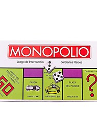 cheap -Family Party Classic Spanish Monopoly Game Board