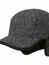 cheap -stetson daysville wool cap with ear flaps men anthracite xl (7 1/2-7 5/8)