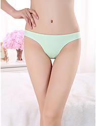 cheap -Women's 1 Piece Basic G-strings & Thongs Panties - Normal Low Waist White Black Blue One-Size