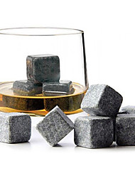 cheap -9 Pcs Set Whiskey Stones Sipping Ice Cube Quick-frozen Ice Stone Ice tartar Coffee Rock Bar Gadgets