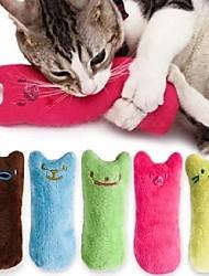 cheap -Catnip Plush Toy Cat Toys Set Cat 2pcs Rectangular Pet Friendly Catnip Gift Pet Toy Pet Play
