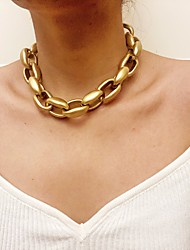 cheap -Women's Chain Necklace Chains Fashion Alloy Gold 30-45 cm Necklace Jewelry 1pc For
