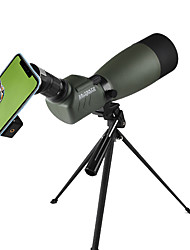 cheap -20-75 X 70 mm Monocular Waterproof Antiskid Foldable Spotting Scope 64/1000 m Multi-coated BAK4 Hunting Performance Outdoor Exercise