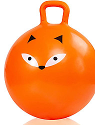 cheap -18 Inch Bouncy Ball with Handle for Kids, Bouncing Ball Hopper for Ages 3-9, Jumping Kangaroo Bouncer, Ride on Hippity Hop, Sit and Bounce Hoppy Fox
