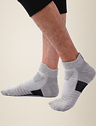 cheap -LITB Basic Men's Towel Bottom Footsocks Breathable Sports Running Sox Anti-slip Sports Sock One-Size EU 39-45 For Male