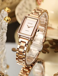 cheap -Women's Steel Band Watches Analog Quartz Elegant Water Resistant / Waterproof Diamond