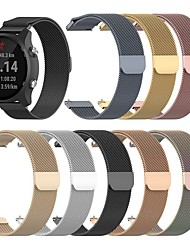 cheap -1 Pcs Watch Band Milanese Loop watch strap suitable for 18mm 20mm 22mm  Samsung Garmin  Fitbit Huawei Xiaomi Fossil Nokia Stainless Steel Wrist Strap