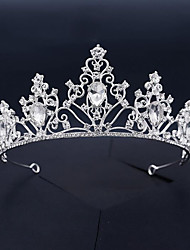 cheap -Wedding Sweet Rhinestone / Alloy Tiaras / Headbands with Crystal / Rhinestone / Split Joint 1 Piece Wedding / Party / Evening Headpiece