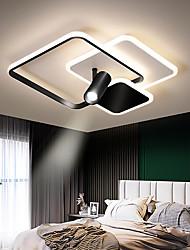 cheap -2-Light 40 cm Single Design Flush Mount Lights Metal LED Nordic Style 110-240 V