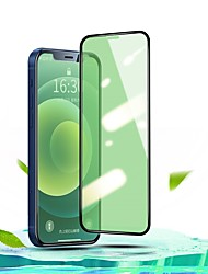 cheap -Tempered Glass Protector For iphone 12 ProMax mini Green Light Film Glass Screen Protector For iphone 11 X XR XSmax 7 8 Glass For 11Pro Max