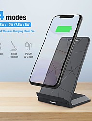 cheap -Nillkin Wireless Charger 15W Fast Qi Wireless Charging Stand Wireless Charging Station Dock For iPhone 12 Pro Max 11 Samsung S21 Note 20 Xiaomi Oneplus 9