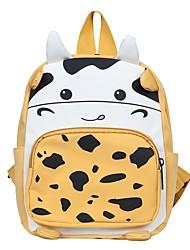 cheap -Boys' Girls' Nylon Mini Backpack Lightweight Zipper Daily School Black Blue Yellow Blushing Pink