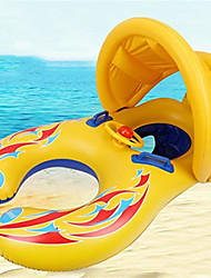 cheap -Inflatable Pool Float Baby Swimming Float Sunshade Canopy with Safety Seat PVC / Vinyl Car Water fun Summer Beach Swimming 1 pcs Boys and Girls Kid's Baby