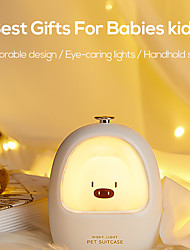 cheap -TW-L13 Led Animal Touch Night light Bedroom Baby Breastfeeding Adjustable Sleep Lamp Cute Children USB Rechargeable bedside lamp