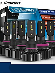 cheap -NOVSIGHT LED Car Light Bulbs 2pcs A500-N31 For H1-H4-H7-H11-9005-9006 50W 10000lm LED Headlamps For universal General Motors All years With Set Up video