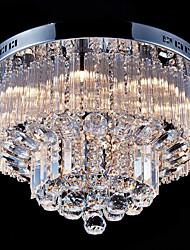 cheap -45cm Crystal Chandelier DIY Modernity Luxury Globe K9 Crystal Pendant Lighting Hotel Bedroom Dining Room Store Restaurant LED Pendant Lamp Indoor Crystal Chandeliers Lighting