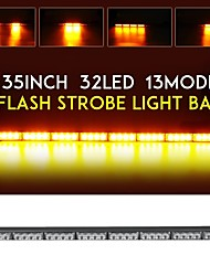 cheap -1pcs Car LED Warning Lights Light Bulbs 32000 lm High Performance LED 320 W 32 For universal All Models All years