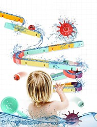 cheap -Bath Toy Bathtub Pool Toys Bath Toys Bathtub Toy Wheels Water Ball Duck Plastic Rubber Floating Suction Cup Style Funny Swimming Bathtub Bathroom Summer for Toddlers, Bathtime Gift for Kids & Infants