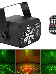 cheap -RG Laser RGB UV LED 8-hole Light Stage Effect Lighting with Remote Controller Auto Sound Control for DJ Club Party Show