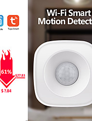 cheap -WIFI PIR  Motion Dectectorr Human Body Sensor Smart Body Movement  Zigbee Use With Gateway Smart life Tuya Smart App