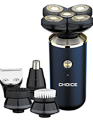 cheap -5-in-1 Men's Electric Shaver Set USB Rechargeable Household Electric Shaver Set