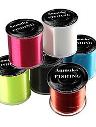 cheap -Monofilament Abrasion Resistant Fishing Line 500M / 550 Yards White, Blue, Yellow