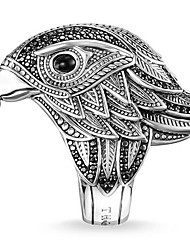 cheap -Band Ring Silver Alloy Owl 1pc 7 8 9 10 11 / Men's
