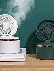 cheap -Mini Wireless USB Rechargeable Fan Mist Spray Fan Home Office Cooling Supplies Adjustable Handheld Personal Mini Fan