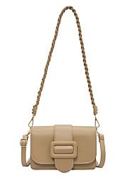 cheap -Women's Bags Crossbody Bag Date Office & Career 2021 Gray Green White Black Almond