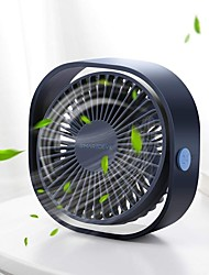 cheap -Portable Cooling USB Desktop Fan 3 Speed Personal with 360 Rotation Adjustable Angle for Office Household Traveling