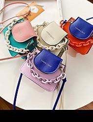 cheap -Girls' Bags Kids' Bag Daily 2021 MessengerBag Blue Purple Orange Beige