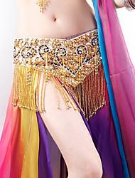 cheap -Belly Dance Waist Accessory Paillette Women's Training Performance POLY