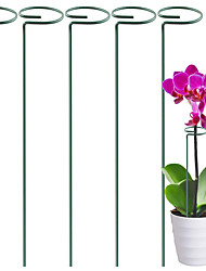 cheap -Home Garden Gardening Plant Fixed Flower Support Rod Fixed Plant Climbing Support Frame Plant Trellis Support Pot Stand Plants