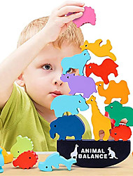 cheap -Sea Animal Stacking Toys for Kids Quality Wooden Blocks for Concentration and Motor Skills Training - Best Holidays & Birthday Gift for Toddlers