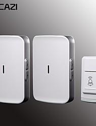 cheap -KONLEN W-906 Wireless One to Two Doorbell Music Non-visual doorbell / Waterproof Surface Mounted Doorbell